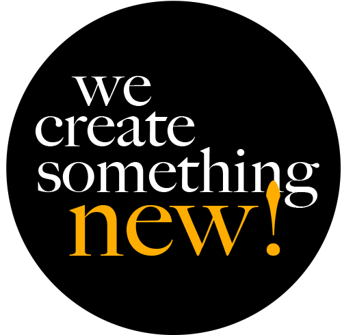 we create something new